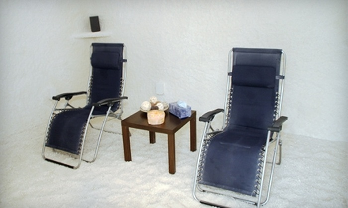 Respira Salt Wellness Center - Berkeley Heights: Halotherapy Session or Salt-Room Rental for Four at Respira Salt Wellness Center in Berkeley Heights