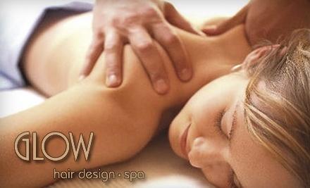 Glow Hair Design & Spa: 1 Body Wrap & Moroccan Bath Spa Package - Glow Hair Design & Spa in Ottawa