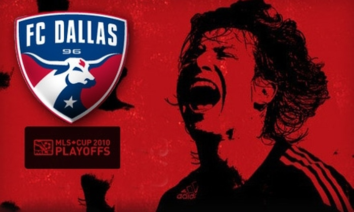 FC Dallas - Frisco: $20 For Two Tickets to FC Dallas Playoff Match Against Real Salt Lake in Frisco (Up to $90 Value)