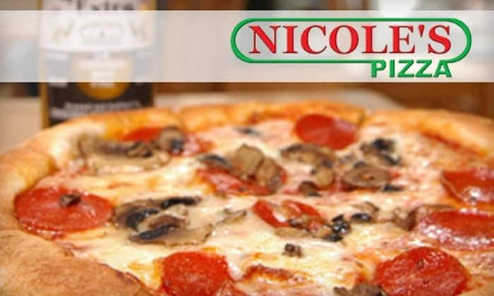 Nicole's Pizza - South End: $7 for $15 Worth of Pizza, Calzones, and More at Nicole's Pizza