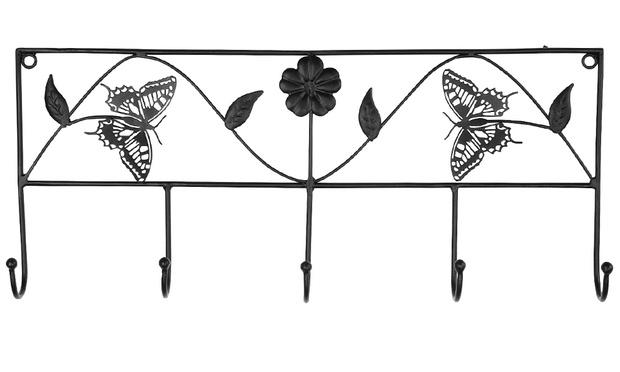 haken garderobe mit motiv welt der rabatte. Black Bedroom Furniture Sets. Home Design Ideas