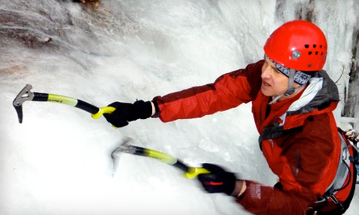 Outer Edge Performance - North Denver,Highland: Half-Day Guided Rock-Climbing or Introductory Ice-Climbing Experience from Outer Edge Performance (Half Off)