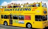 ShopDineTour Toronto - Downtown Toronto: $18 for a Hop On–Hop Off Double-Decker Bus Tour of Toronto from ShopDineTour Toronto ($45.19 Value)