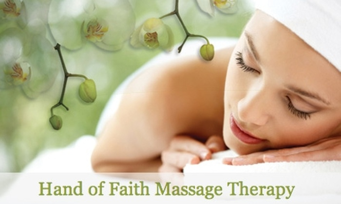 Hands of Faith Massage - Central Oklahoma City: $29 for a 60-Minute Massage at Hands of Faith Massage ($65 Value)