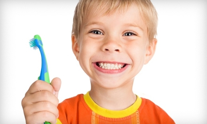 Brentwood Dental Pediatrics - Brentwood: $40 for a Children's Dental Exam, Cleaning, X-Ray, and Fluoride Treatment at Brentwood Dental Pediatrics ($188 Value)