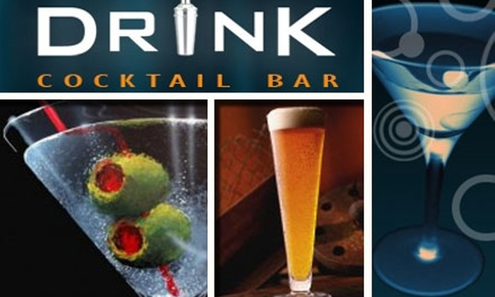 Drink Cocktail Bar - Downtown: $15 for $35 Worth of Drinks at Drink Cocktail Bar
