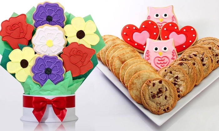 Corso's Cookies: Cookie Bouquets from Corso's Cookies (Up to 55% Off). Two Options Available.