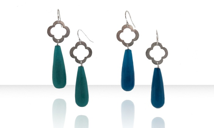 Liv Oliver Clover Jewelry Groupon Goods