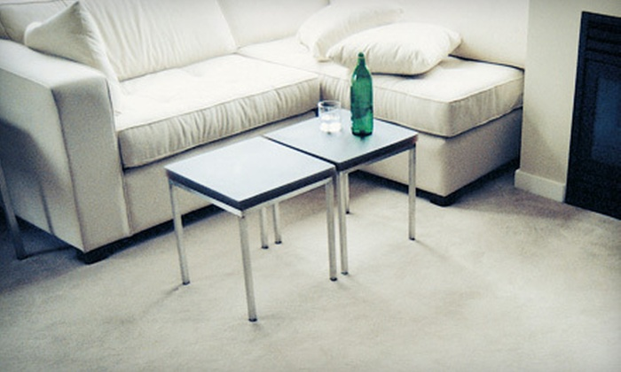 Thoroclean - Reiffton: Carpet or Sofa Steam Cleaning from Thoroclean (Up to 60% Off). Four Options Available.