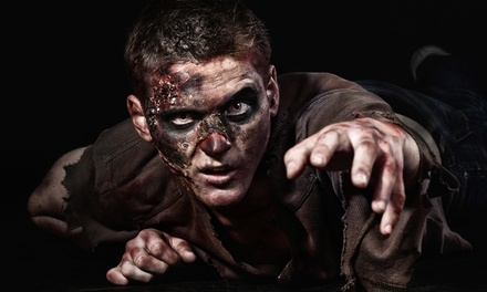 VIP Zombie-Hunting Package for Two or Four or Zombie-Hunt Birthday Party at SplatterPark (Up to 60% Off)