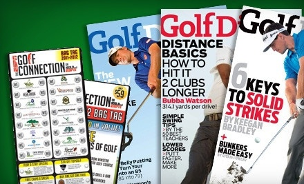 1 2012 ESPN Supreme Golf Bag Tag and 1-Year Subscription to Golf Digest - Supreme Golf in Thackerville