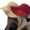 Women's Elegant Luxury Wool Hat with Bow