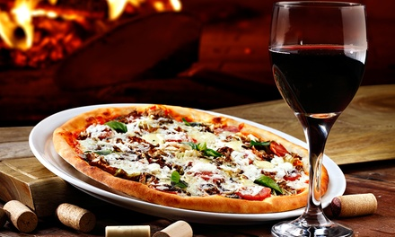 Two-Course Meal and Wine for Two or Four at Valentino's (Up to 52% Off)