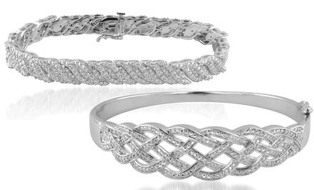 1/2 CTTW Diamond Bracelets