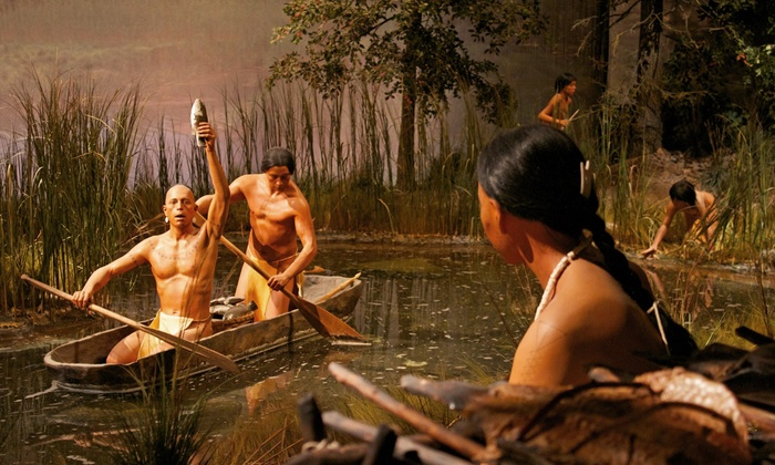 The Mashantucket Pequot Museum - Mashantucket: Visit for Two Adults or a Family of Four to the The Mashantucket Pequot Museum (Up to 53% Off)