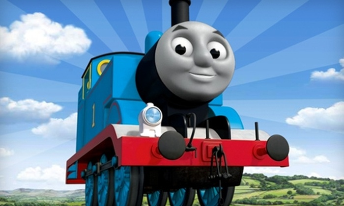 "Thomas and Friends Live! - Auburn Hills: $15 for One Reserved Seat ($31.25 Value) or $20 for One Superfan Seat ($41.25 Value) to ""Thomas and Friends Live!"""