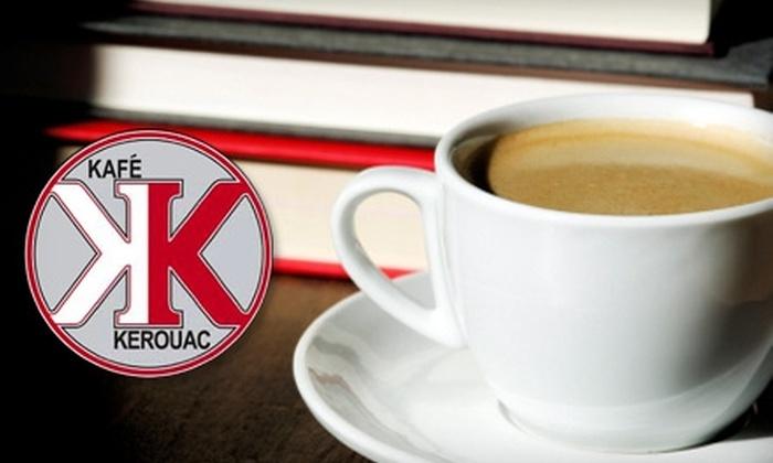 Kafé Kerouac - Northwood Park: $3 for $6 Worth of Food and Drinks at Kafé Kerouac