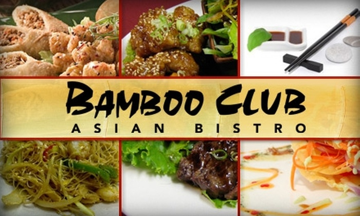 Bamboo Club - Central Scottsdale: $18 for $40 Worth of Asian Fusion Fare at The Bamboo Club Asian Bistro