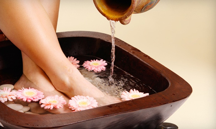 Mira's - Eastern Malibu: Foot Soak with Reflexology and Mini Facial, or Far-Infrared-Therapy Treatment and Massage at Mira's in Malibu (Up to 53% Off)
