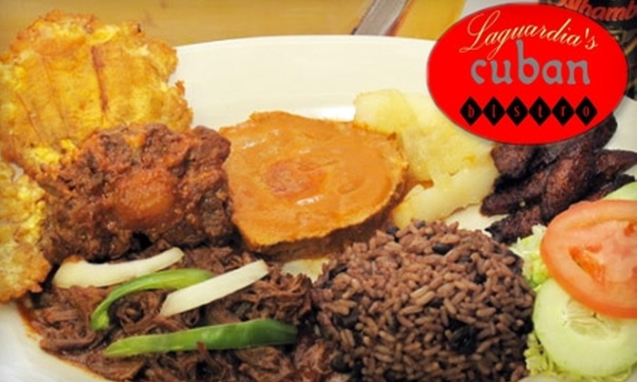 Laguardia's Cuban Bistro - Bucktown: $10 for $20 Worth of Cuban Fare at Laguardia's Cuban Bistro