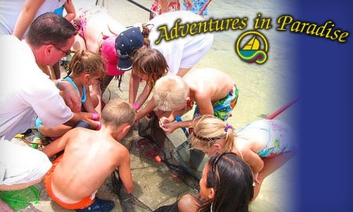 Adventures in Paradise - Fort Myers: Adult and Child Tickets to the Sea Life Encounter Excursion (Up to $110 Value) at Adventures in Paradise. Choose from Two Options.