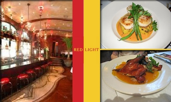 Red Light  - West Loop: $25 for $50 Worth of Pan-Asian Fare at Red Light