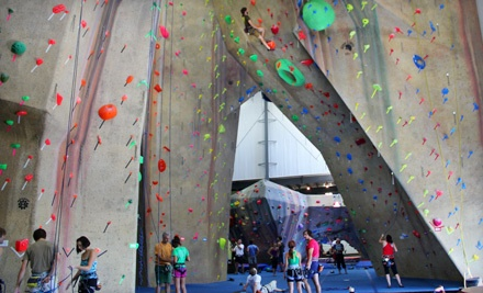 2 Daily Passes, Including Harness Rental - Upper Limits Rock Climbing Gym St. Louis in St. Louis