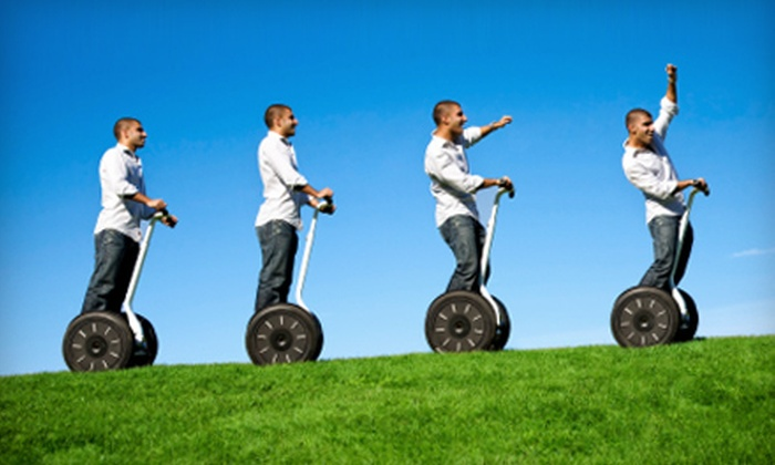 Segway Nation - Downtown: $32 for Executive Segway Tour from Segway Nation ($65 Value)