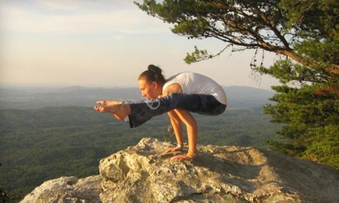 Anniston Yoga Center - Anniston: $20 for a Four-Class Yoga Session at Anniston Yoga Center in Anniston ($45 Value)