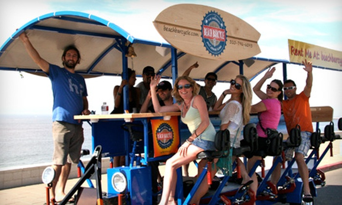 Beach Barcycle - Redondo Beach: Two Seats on a Mixer Tour or Two-Hour Full Barcycle Rental from Beach Barcycle (Half Off)