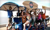 Beach Barcycle: Two Seats on a Mixer Tour or Two-Hour Full Barcycle Rental from Beach Barcycle (Half Off)