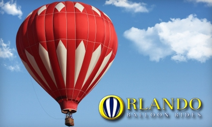 Orlando Balloon Rides - Kissimmee: $105 for a Sunrise Hot-Air-Balloon Ride For One Adult, Plus Breakfast and Champagne, from Orlando Balloon Rides (up to a $175 Value)