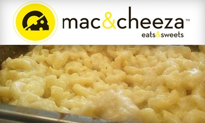 Mac and Cheeza - Downtown Bakersfield: $6 for $12 Worth of Customizable Macaroni and Cheese at Mac and Cheeza