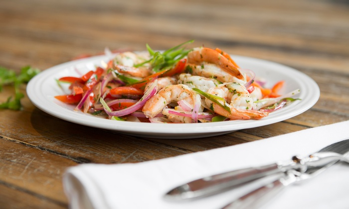 Limon - City Park West: $38 for a Latin American Meal for Two at Limón (Up to $78 Value)