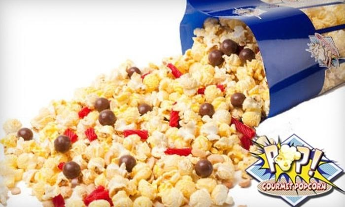 Pop! Gourmet Mix-In - Renton: $10 for $20 Worth of Popcorn at Pop! Gourmet Mix-In in Renton or Online