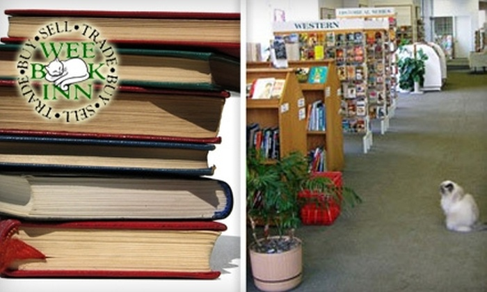 Wee Book Inn - Multiple Locations: $8 for $20 Worth of Used Books at Wee Book Inn