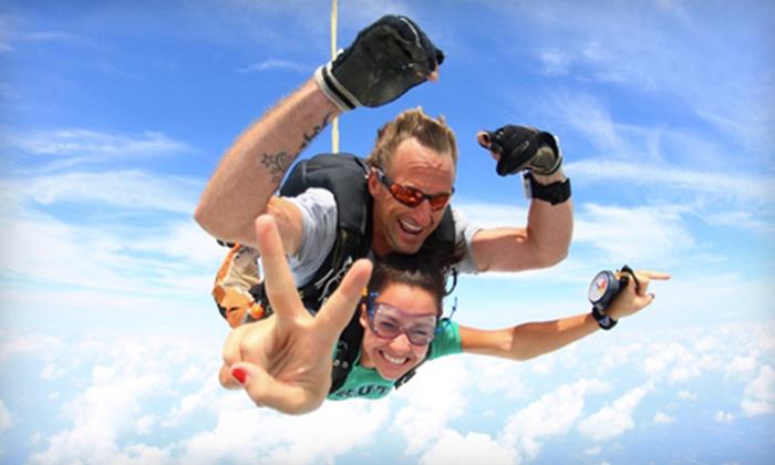 Chicagoland Skydiving Center - Rochelle: Tandem Skydiving Jump from Chicagoland Skydiving Center in Rochelle