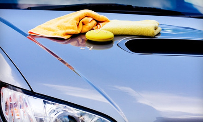 Express Hand Wash - Hollywood: Car Wash, Mini Detail, or Full Detail at Express Hand Wash (Up to 55% Off)