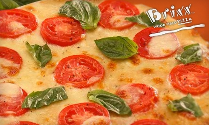 Brixx Wood Fired Pizza - Multiple Locations: $10 for $20 Worth of Gourmet Pizza and Casual Fare at Brixx Wood Fired Pizza