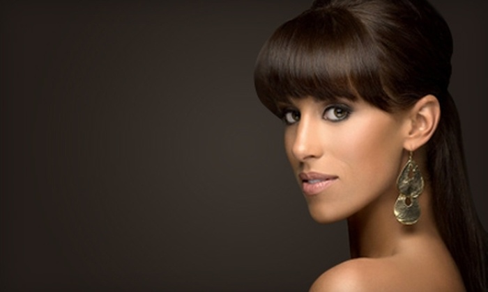 Envy Salon - Round Rock Original Plat: $50 for Women's Haircut, Blowout, and Protein Fusion Treatment at Envy Salon in Round Rock ($130 Value)