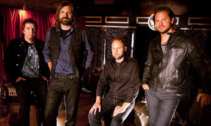 Third Day - Willoughby: Two Tickets to See Third Day at the Langley Events Centre on May 11 at 7 p.m. Two Options Available.