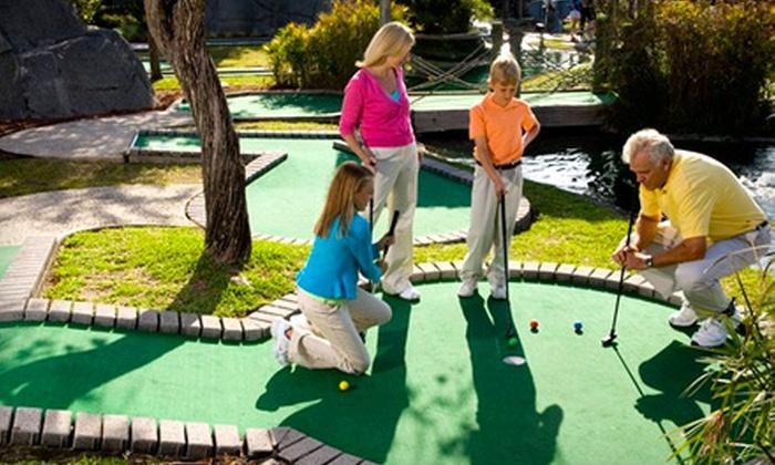 Adventure Landing - Gastonia: $18 for 10 Games of Mini Golf at Adventure Landing in Gastonia (Up to $37 Value)