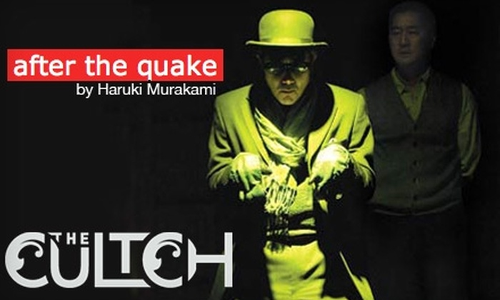 "The Cultch - Grandview-Woodland: $18 Ticket to ""After the Quake"" at The Cultch on Oct. 15 or 16"