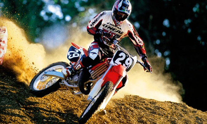 EagleRider - Inland Empire: Full-Day Motorcycle or Dirt-Bike Rental from EagleRider in San Bernardino