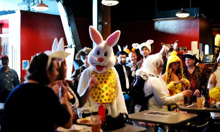 Bunny Hop Bar Crawl for One, Two, or Four with T-shirts on Saturday, April 4, from Carolina Nightlife (30% Off)