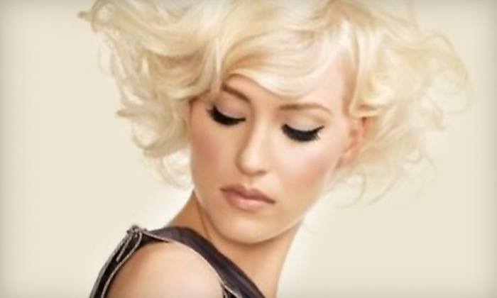 Lady Godiva Hair Studio - Colorado Springs: $60 for Shampoo, Haircut, Color, Style, and a PM Shines Treatment at Lady Godiva Hair Studio (Up to $120 Value)
