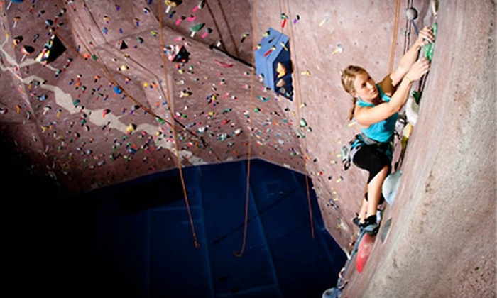 The Edge Rock Gym - Southeast Jacksonville: $12 for an Introductory Rock-Climbing Package at The Edge Rock Gym ($25 Value)