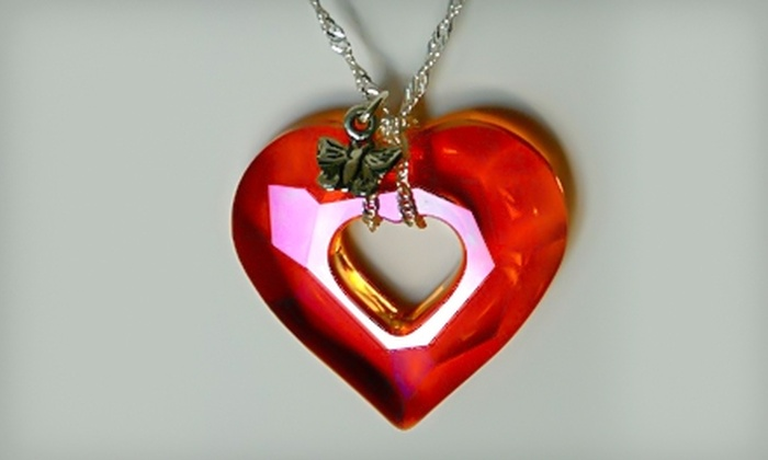 KaTonGiovi Studios - Winnipeg: $50 for $100 Worth of Crystal Jewellery or $58 for a Swarovski Crystal-Heart Necklace ($116 Value) from KaTonGiovi Studios