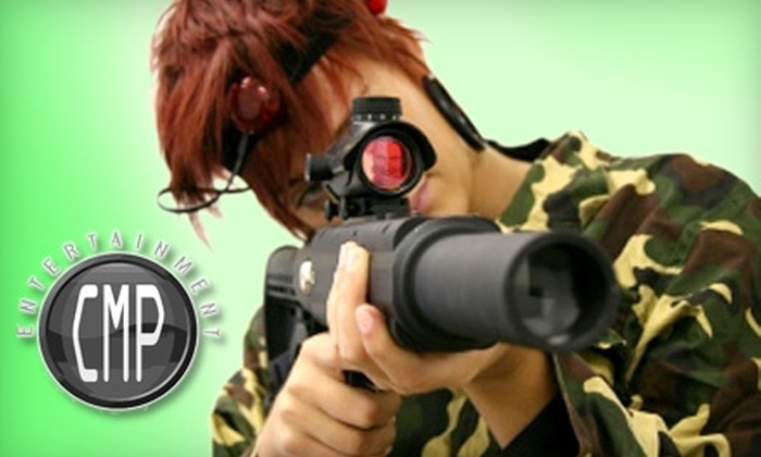 CMP Entertainment - Mitchell West: $20 for $45 Worth of Paintball or Laser Tag at CMP Entertainment