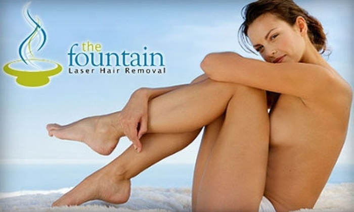 The Fountain Laser Hair Removal - Northeast Cobb: $99 for Three Laser Hair-Removal Treatments at The Fountain Laser Hair Removal in Smyrna (Up to $387 Value)